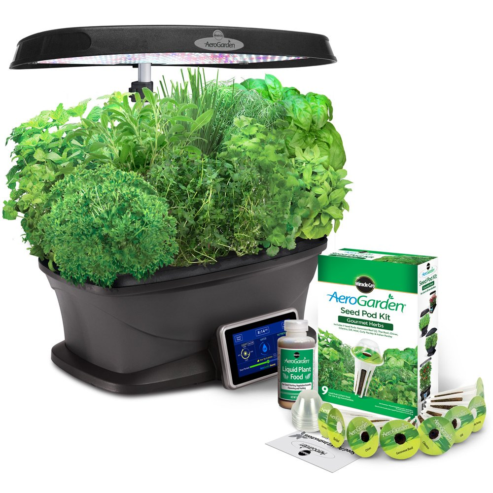 Awesome Miracle-Gro AeroGarden Bounty with Gourmet Herb Seed Pod Kit