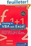 Einstieg in VBA mit Excel, m. CD-ROM