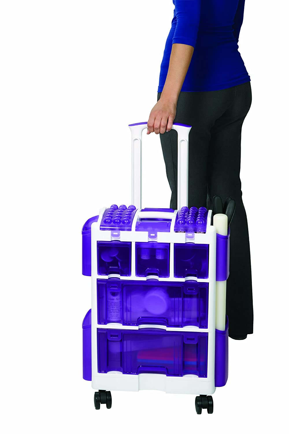 wilton decorate smart ultimate rolling tool caddy new free shipping ebay. Black Bedroom Furniture Sets. Home Design Ideas