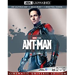 ANT-MAN [4K Ultra HD + Blu-ray]