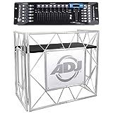 American DJ Pro Event Table II Foldable DJ Booth Truss Facade + DMX Controller