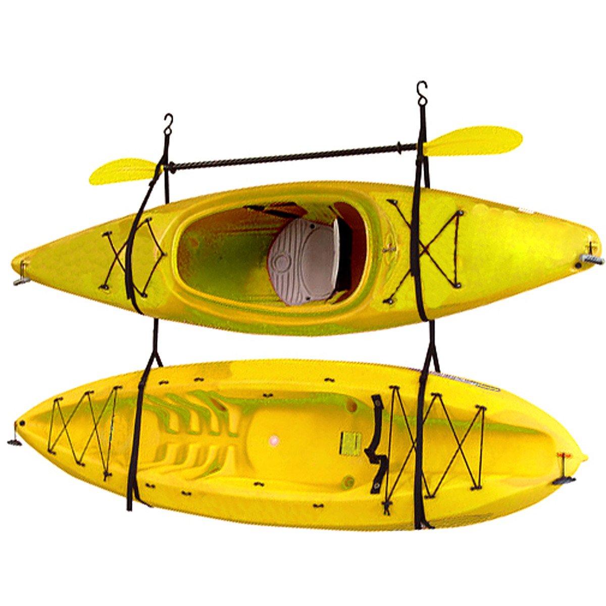 Strap Wall Hanger System Canoe Hang Garage Straps Kayaks Kit Gear