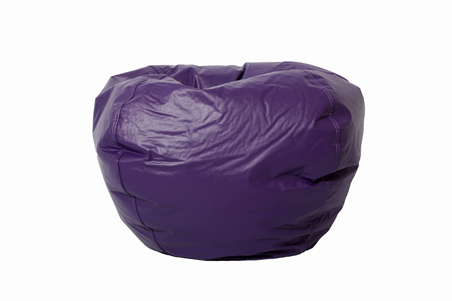 Comfort Research Classic Vinyl Bean Bag, Purple