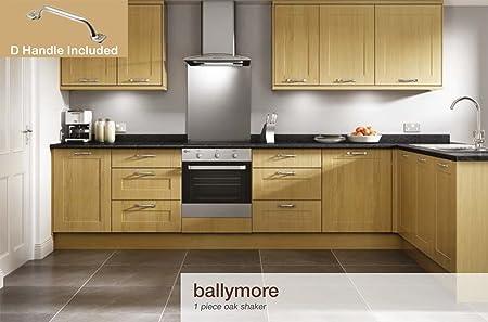 Ballymore Shaker Oak Kitchen Units (70/30 Fridge Freezer House)