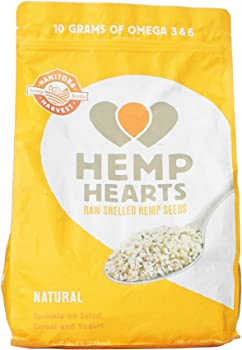 5Lb Raw Shelled Hemp Seeds