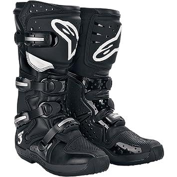Bottes Motocross Alpinestars Tech Three Noir (Eu 47 / Us 12 , Noir)