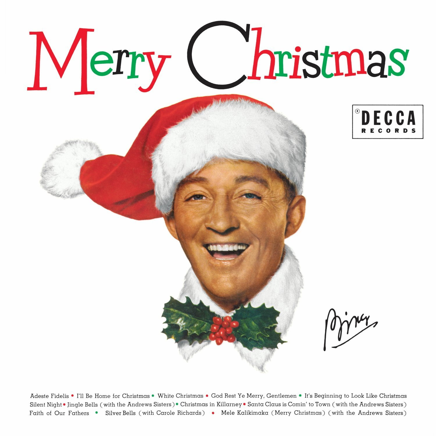 Bing Crosby Merry Christmas Lp Remastered On Vinyl By