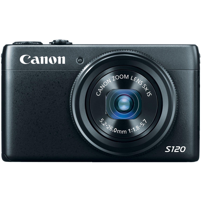 Canon PowerShot S120 Digital Camera w/ 12.1 MP 1/1.7 Inch Sensor & Wi-Fi Enabled