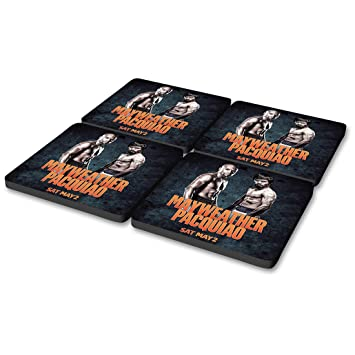 Showtime Boxing Mayweather vs Pacquiao Poster Coasters [Set of 4]