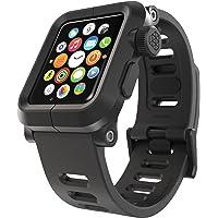 LUNATIK EPIK Polycarbonate Case and Silicone Band for Apple Watch (Black)