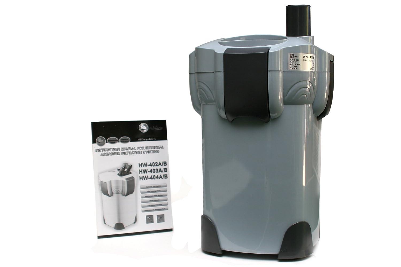 zenblue hw402b 4 stage 264gph aquarium canister filter with 9w uv sterilizer n ebay. Black Bedroom Furniture Sets. Home Design Ideas