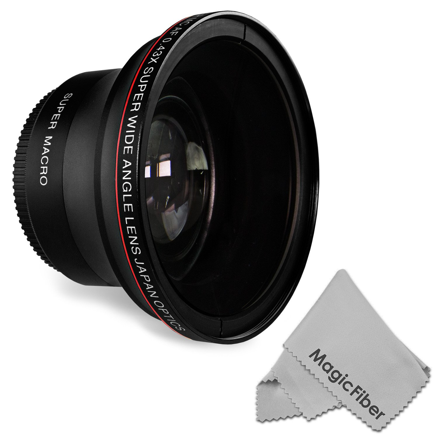 58MM 0.43x Altura Photo Professional HD Wide Angle Lens