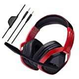 AmazonBasics Pro Gaming Headset - Red (Color: Red)