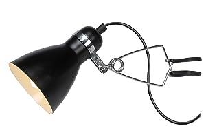 Lucide 18611/71/30 Klippy - Foco con pinza (9 W, E14, 230 V, 28 cm de altura, 10,5 cm de diámetro), color negro   Comentarios