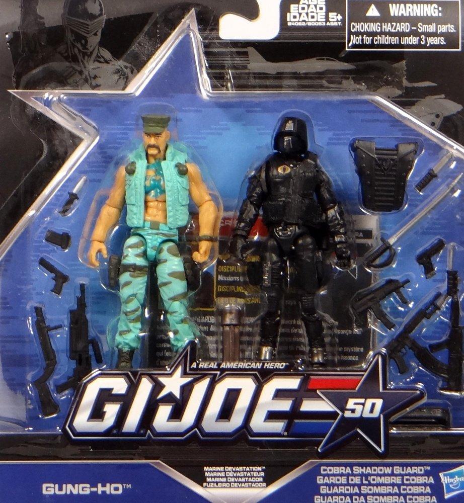 G.I. Joe Gung Ho vs. Cobra Shadow Guard – Marine Devastation – 50th Anniversary 2015 – Actionfiguren Set von Hasbro günstig online kaufen