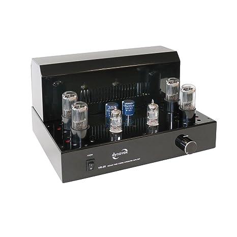 Dynavox VR-20 Amplificateur intégré à tubes Noir (Import Allemagne)