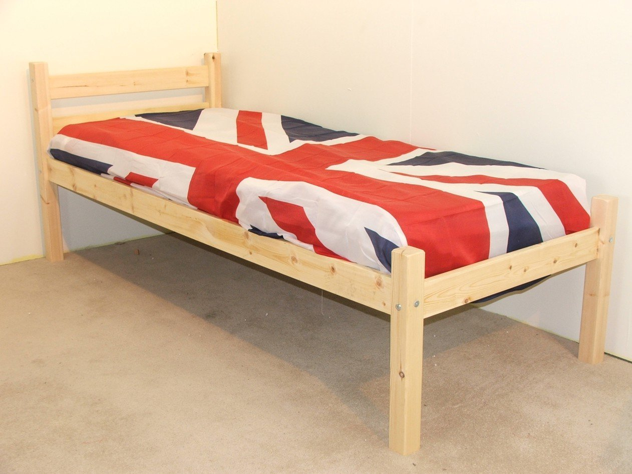 Junior bed 2ft 6 by 5ft 9 Short Single with 5  (15cm) sprung mattress       Customer reviews and more information