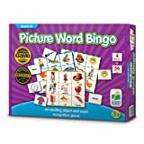 The Learning Journey Match It! Bingo - Picture Word - Reading Game for Preschool and Kindergarten 36 Picture Word Cards (Tamaño: 9.5