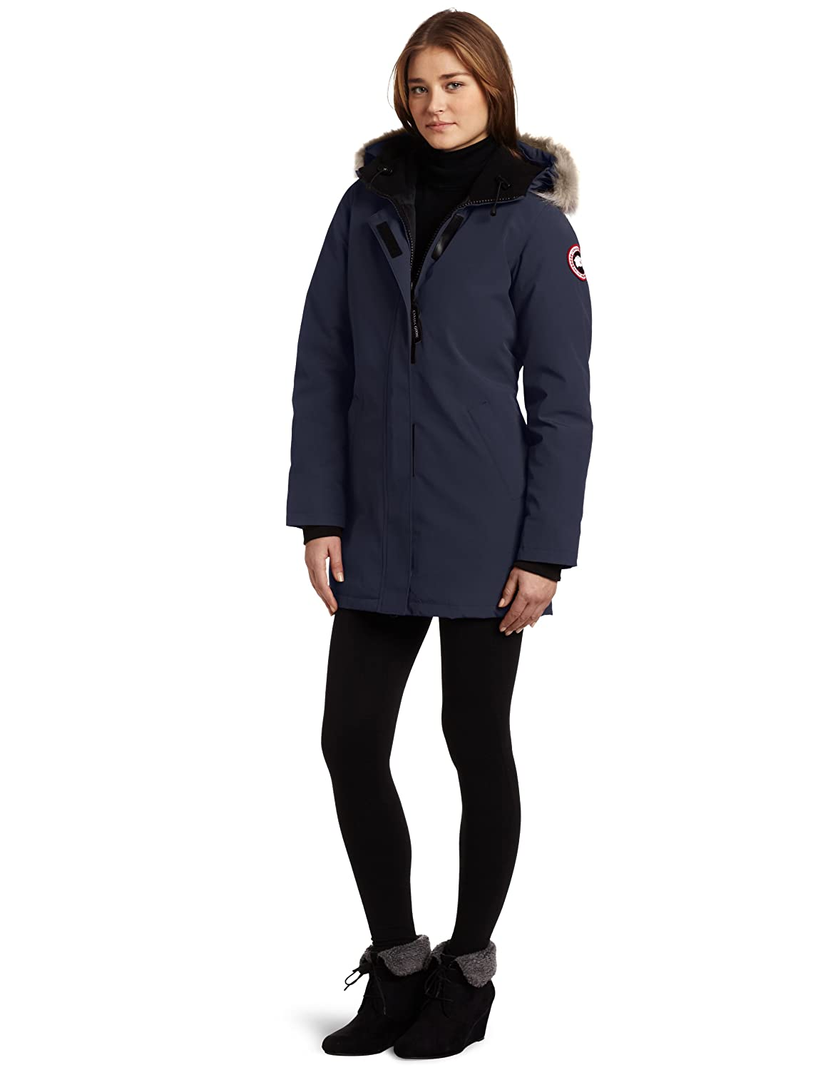 oh canada goose women s victoria parka oh sale. Black Bedroom Furniture Sets. Home Design Ideas