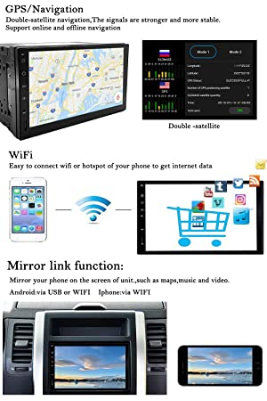 YODY Double Din Car Stereo Android 8 1 Octa Core 2GB RAM