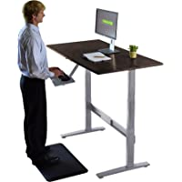 Uncaged Ergonomics RISE UP Electric Adjustable Height Standing Desk (Black Bamboo)