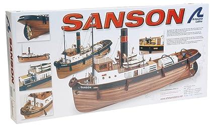 Maquette en bois - Sanson