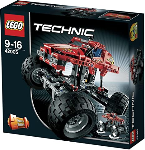Lego Technic - 42005 - Jeu de Construction - Monster Truck