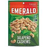 Emerald Nuts, Jalapeno Cashews, 5 Ounce Resealable Bag