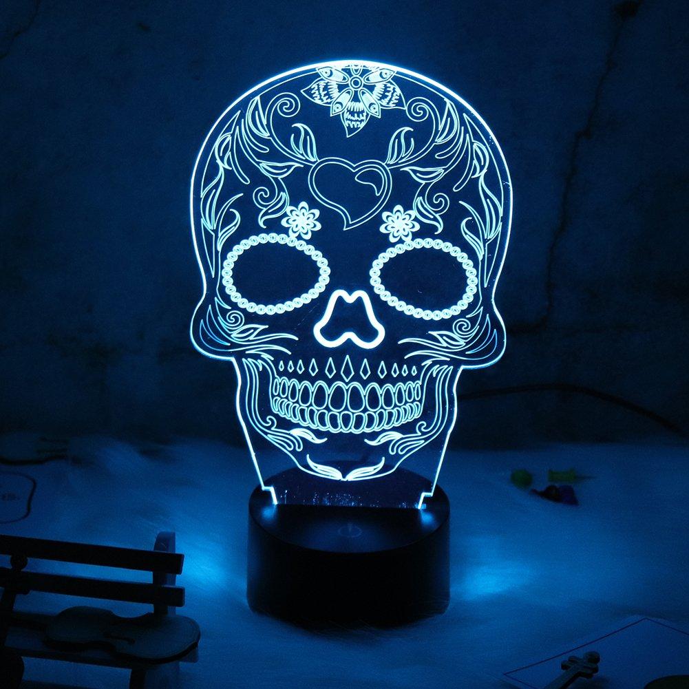 Buy Skull Table Lamp Now!
