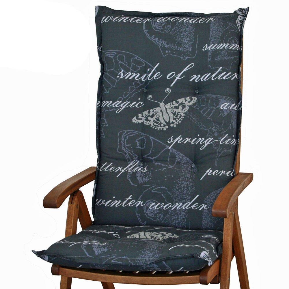 6 Gartenmöbel Auflagen für Hochlehner Sun Garden Prato 40240-700 in grau bestellen