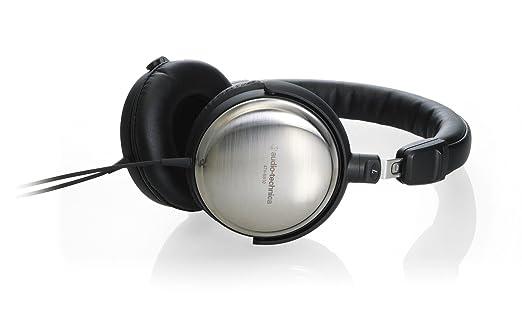 Audio Technica ATHES10 Casque Hi-Fi Jack 3,5 mm Noir