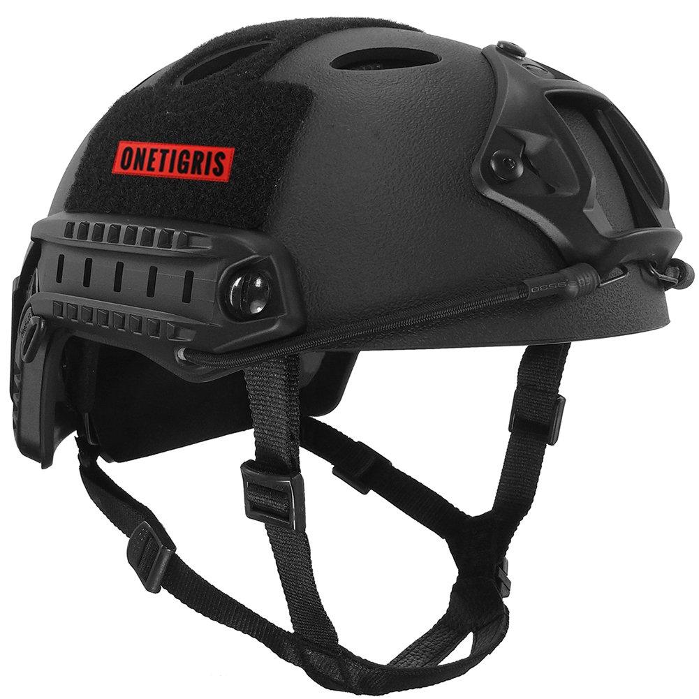 OneTigris アウトドア PJタイプ エアソフトヘルメット 米軍風