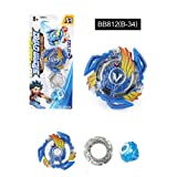 Kids Burst Gyro Funny Beyblade Spinning Top Toys Fighting Gyro Toys B34 (Color: B34)