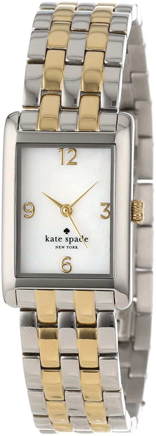 kate spade new york Women's 1YRU0038 Cooper Two-Tone Stainless Steel Bracelet Watch сумка kate spade new york kennedy street tizzie