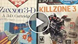 Classic Game Room - KILLZONE 3 Vs. ZAXXON 3-D Packaging...