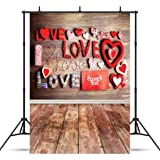 CYLYH 5x7ft Valentine's Day Theme Vinyl Customized Photography Backdrop Background Studio Prop 121 (Color: 5, Tamaño: 5x7ft)