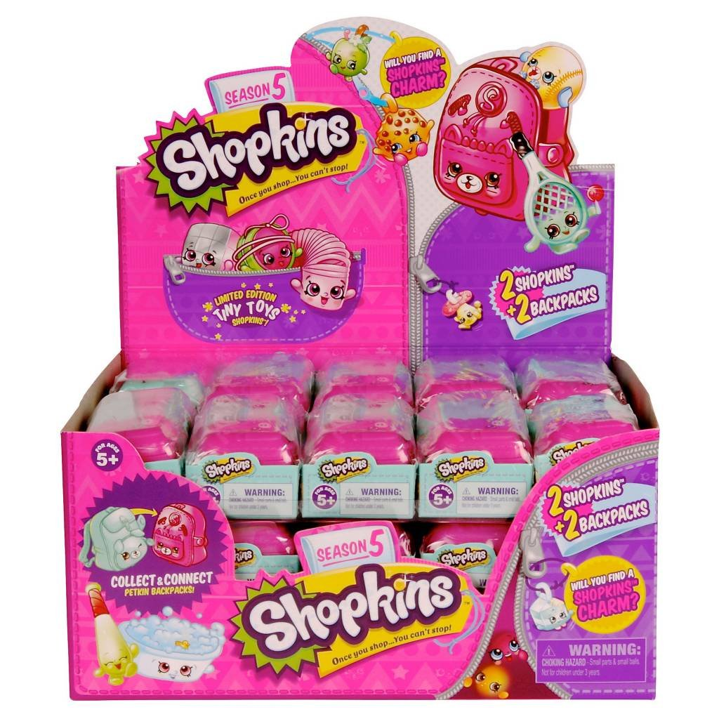 Shopkins Season 5, 2 Pack: Case of 30