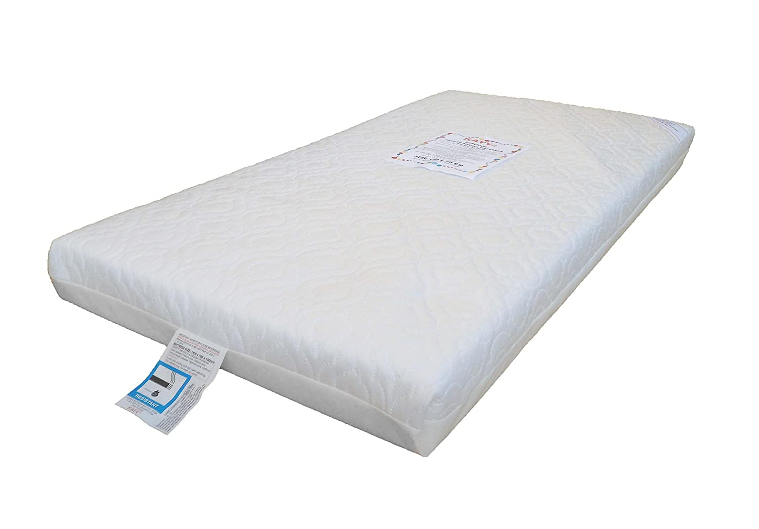 Superior Deluxe Spring Cot Bed-Junior Bed Sprung Mattress