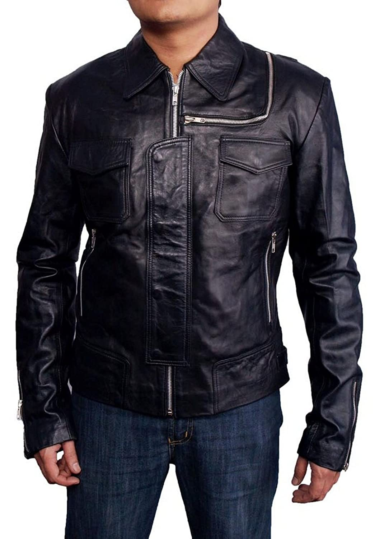 Men's Stylish Leather Jacket günstig