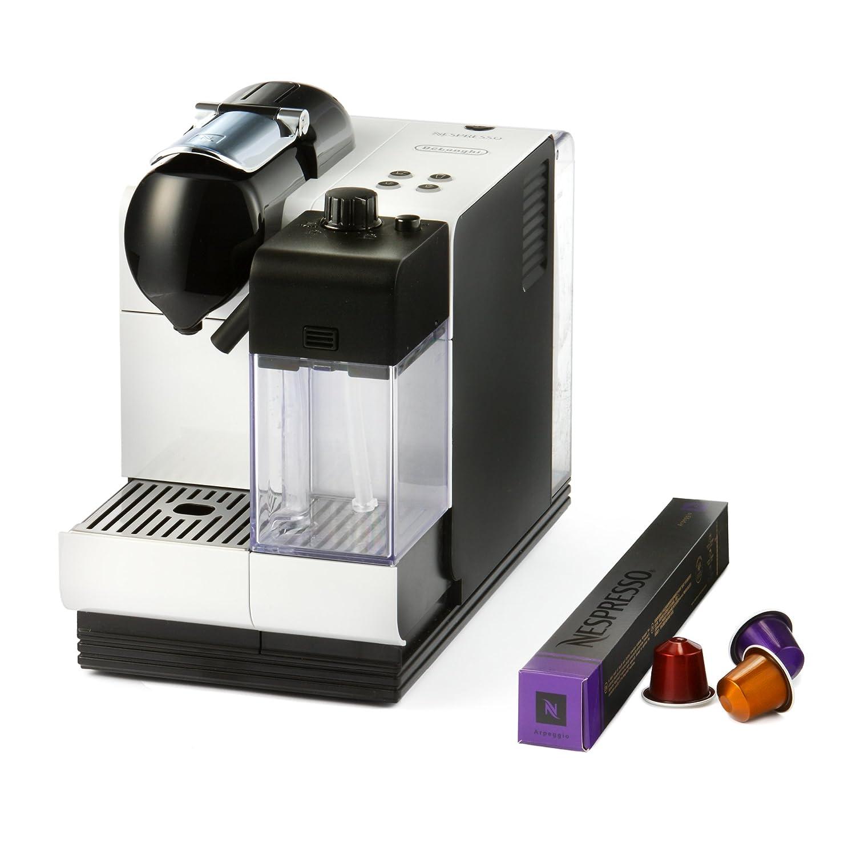 Delonghi EN520.W Nespresso Lattissima Plus Coffee Maker, WHITE 19 BAR RRP ?249 eBay