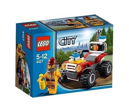 Lego City - 4427 - Jeu de Construction - Le 4X4 des Pompiers en Forêt