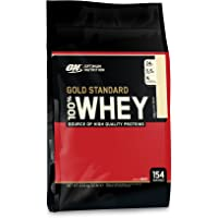 Optimum Nutrition Vanilla-Flavored Gold Standard 100% Whey, 10 Pounds
