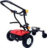 FTR Caddytrek Red Electric Golf Pull Trolley Cart For Clubs Caddy Trek