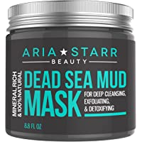 Aria Starr Beauty Dead Sea Mud Mask For Face, Acne, Oily Skin & Blackheads