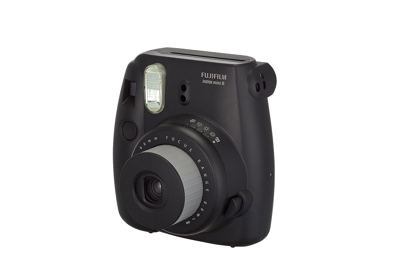 fujifilm instax mini 8 instant film camera black ebay. Black Bedroom Furniture Sets. Home Design Ideas