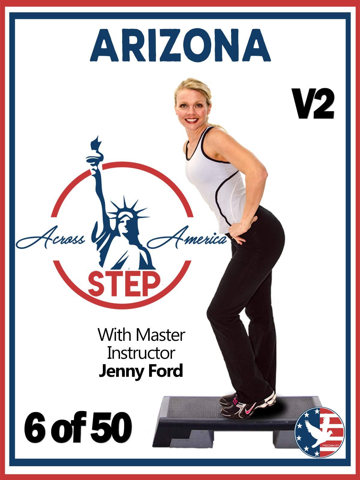 6 of 50 Arizona Step Across America Jenny Ford