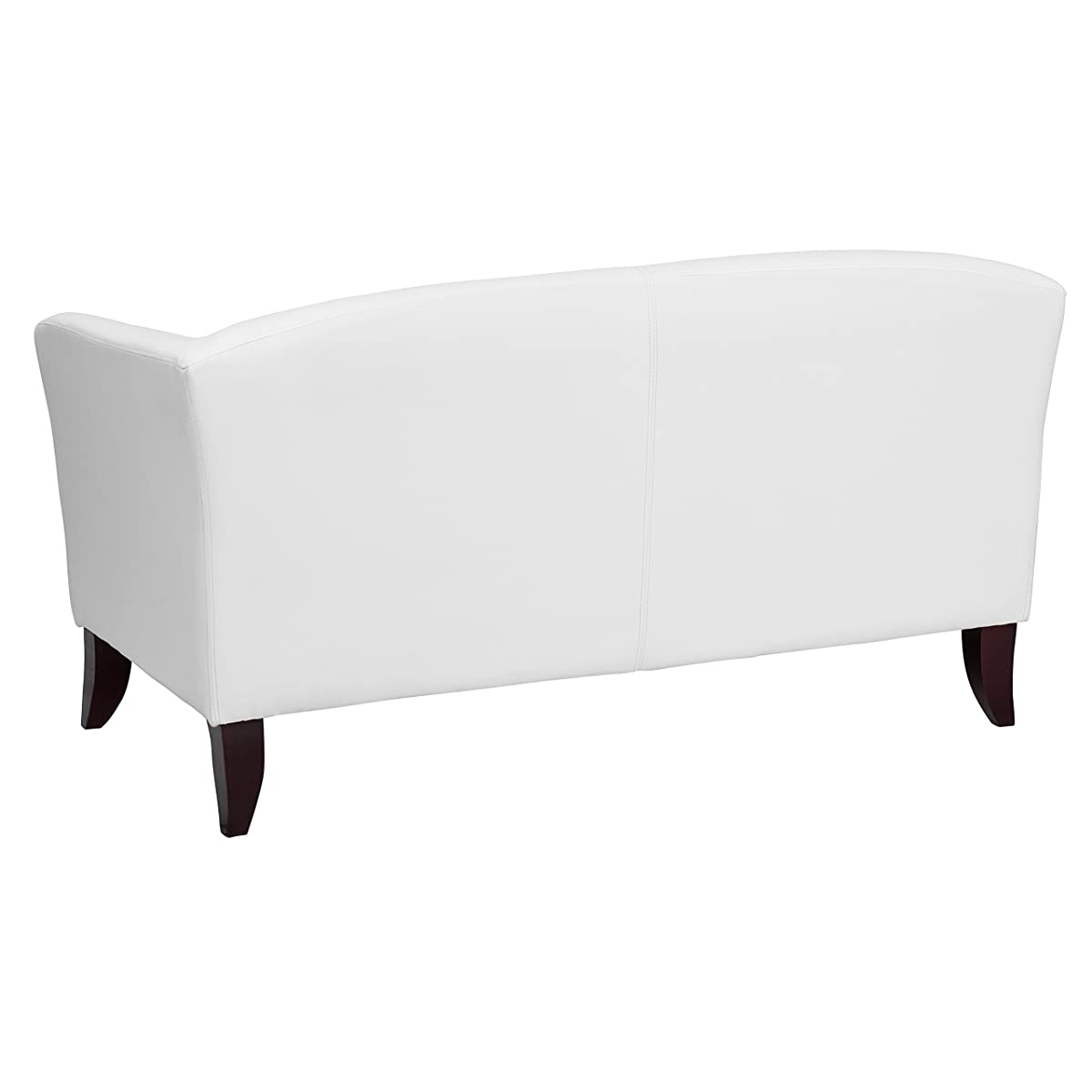 Flash Furniture HERCULES Imperial Series White Leather Loveseat