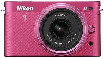 """Nikon J2 Appareil photo numérique hybride 10,1 Mpix Écran LCD 3"""" 2,7X Rose"""