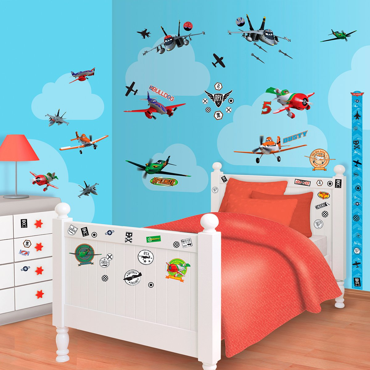 Walltastic Mini Kit Disney Planes