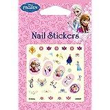 Disney Nail Art Stickers Cartoon Decoration Mix 4-Pack (Frozen) (Color: Frozen)